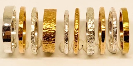 Introduction to metal smithing - make your own 925 sterling silver bangles tickets