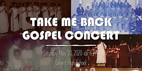 Take Me Back Concert tickets