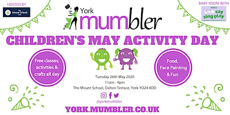York Mumbler Children's Activity Day 2020 tickets