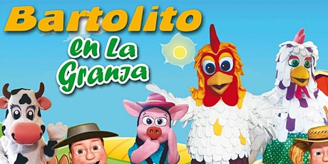 Bartolito en la Granja en Palencia entradas