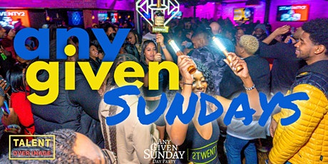 Any Given Sunday w/ T.O.I tickets