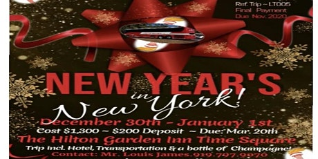 New Year's in New York 2021 tickets