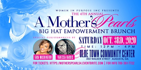 A Mothers Pearls 4th Annual Big Hat Brunch tickets