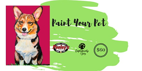 Paint Your Pet at Pooley's tickets