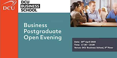 DCU Postgraduate Studies Information Evening tickets