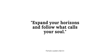 Berlin Female Leaders Monthly Meeting Tickets