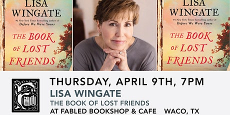 Lisa Wingate Signs The Book of Lost Friends tickets