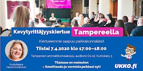 Kevytyrittäjyyskoulutus, Tampere tickets