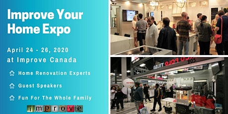 IMPROVE YOUR HOME EXPO tickets