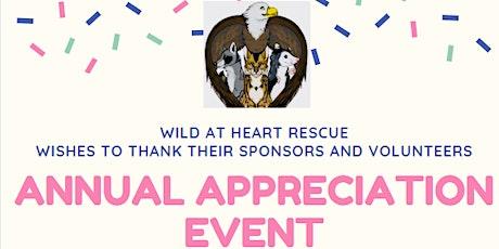 Wild At Heart Volunteers/Contributors tickets