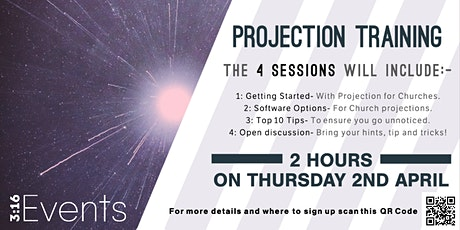 3:16 Events Church Projection Training Evening tickets