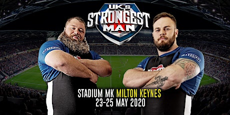UK's Strongest Man 2020 tickets