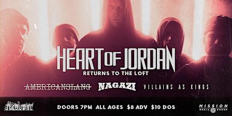 Heart of Jordan | 8/14 at The Loft tickets