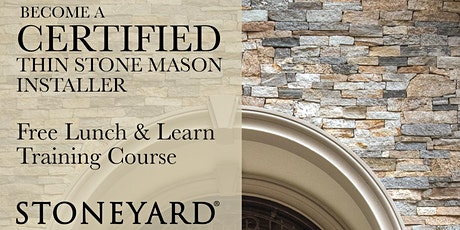 Stoneyard® Certified Thin Veneer Installer Class tickets