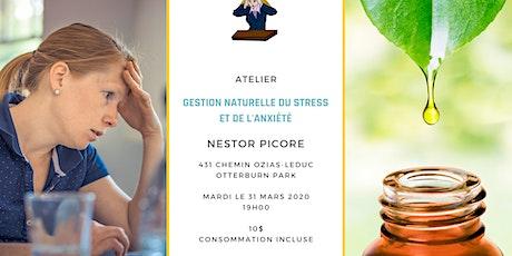 Atelier Gestion Naturelle du Stress et de l'Anxiété billets