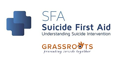 Suicide First Aid: Funded by the Grassroots Runners - postponed tickets