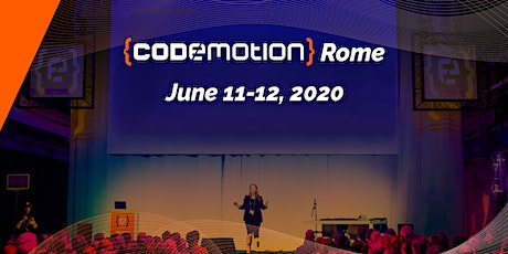 Codemotion Rome 2020 - Conference (June 11-12) tickets