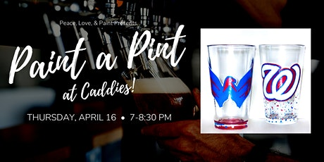 Paint a Pint at Caddies tickets