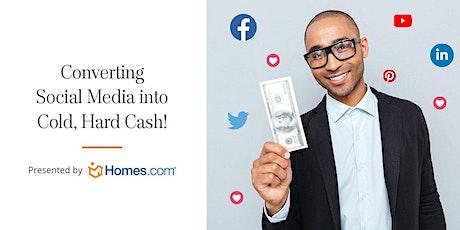 Converting Social Media Into Cold, Hard Cash, SIBOR tickets