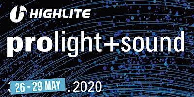 Prolight+Sound Frankfurt - 27 May