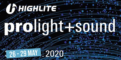 ProLight+Sound, Frankfurt - 28 May.