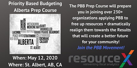 Priority Based Budgeting Prep Course tickets