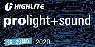 ProLight+Sound, Frankfurt - 29 May.