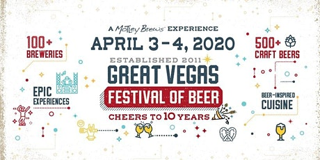 2020 Great Vegas Festival of Beer tickets