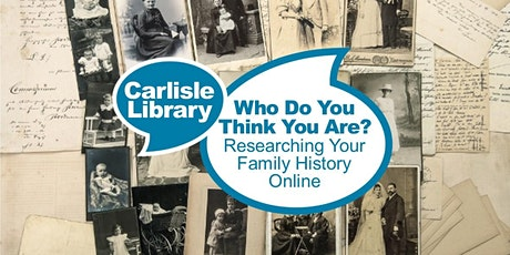 Researching Your Family History Online tickets