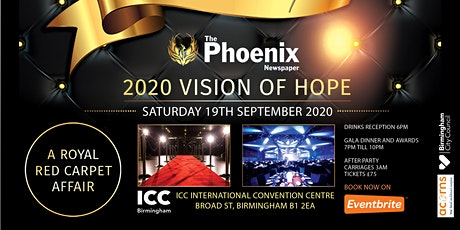 The Phoenix Newspaper 10th Anniversary Gala Dinner 2020 Vision Of Hope tickets