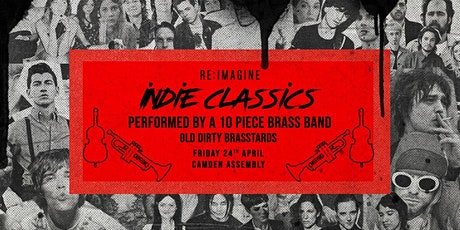Indie Classics Performed by a 10 Piece Brass Band tickets