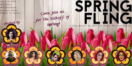 Spring Fling: a Drag Benefit for Pleasant Hearts Pet Food Pantry! tickets