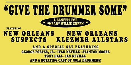 """Give The Drummer Some"" tickets"
