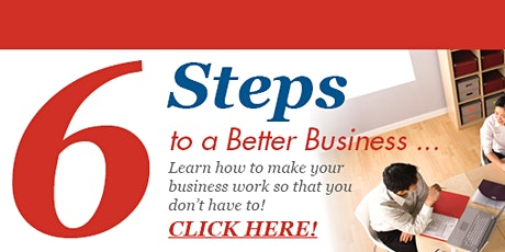 6 Steps to Grow Your Business Virtual Seminar tickets