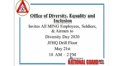 Michigan National Guard Diversity Day 2020 tickets