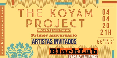 The Koyam Project - Live@BlackLab tickets