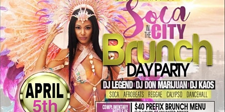 SOCA IN THE CITY BRUNCH & DAY PARTY #VegasWorld tickets