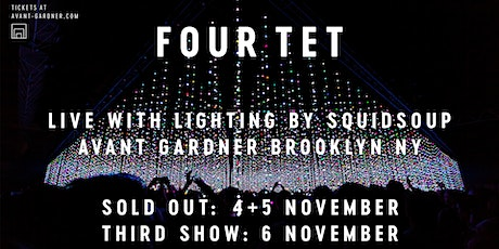 Four Tet w/ Lighting By Squidsoup