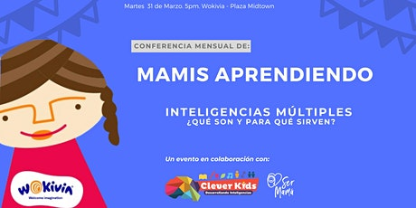 Conferencia: Inteligencias múltiples (entrada solo un adulto) boletos