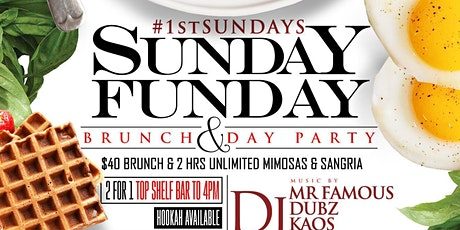 Sunday Funday Bottomless Brunch & Day Party tickets