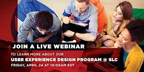 Postponed: User Experience Design Program @ St Lawrence College Webinar tickets