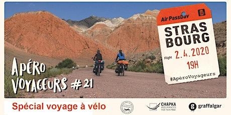 Reporté // ApéroVoyageurs  Strasbourg #21 Spécial voyage à vélo ! billets