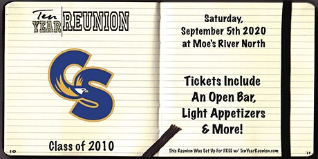 Carl Sandburg High School Class of 2010: Ten Year Reunion tickets