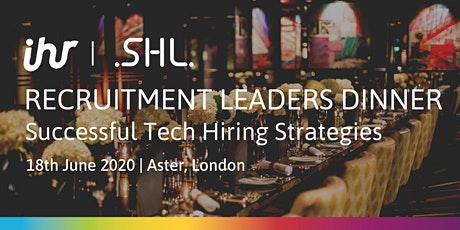Recruitment Leaders Dinner: Successful Tech Hiring Strategies tickets