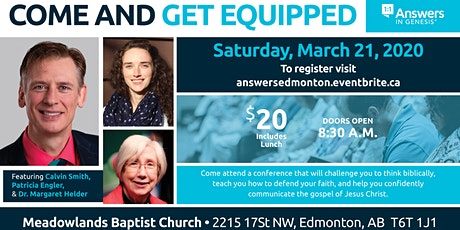 Answers In Genesis Conference (Calgary) tickets