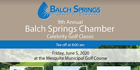 9th Annual Balch Springs Chamber Celebrity Golf Classic tickets