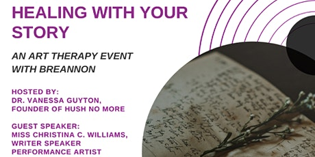 Healing With Your Story-Art Therapy tickets