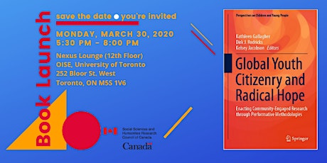 BOOK LAUNCH: Global Youth Citizenry and Radical Hope (Springer Nature) tickets