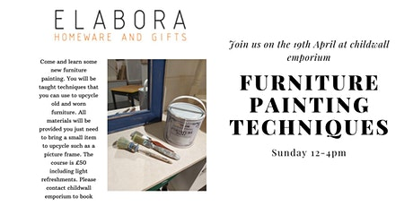 Furniture Painting For Beginners tickets