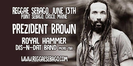 Reggae Sebago a Lakeside Arts & Music Concert tickets
